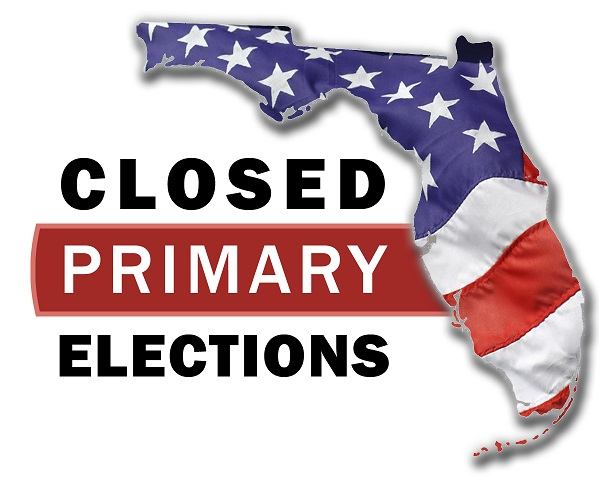 State of Florida Closed Primary Elections